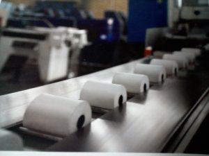 رول حرارتی 8 سانتی 55 متری چاپ مشکی هانسول