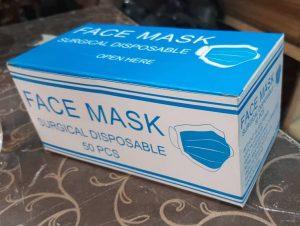 چاپ جعبه ماسک